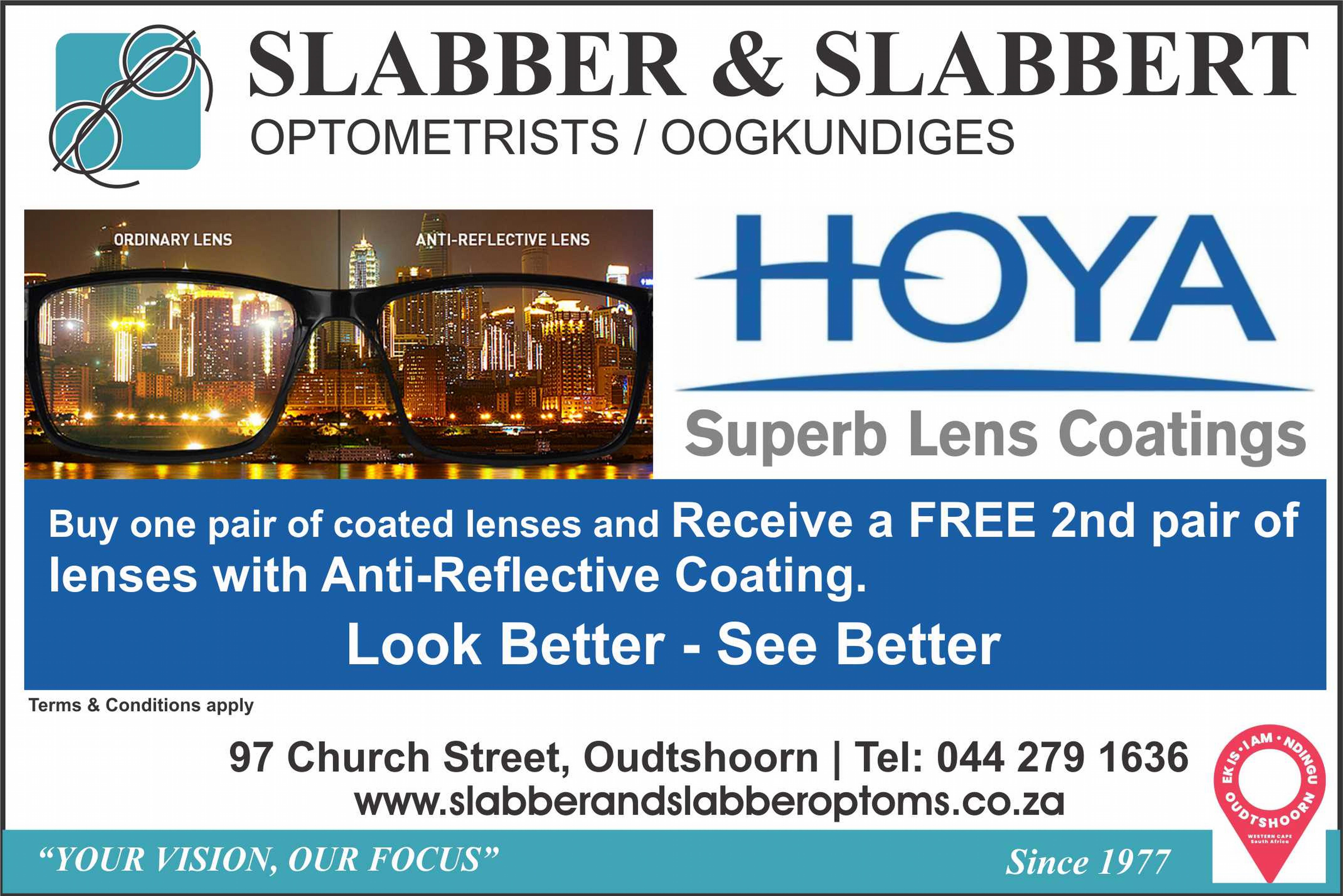 Superb Lens Coatings