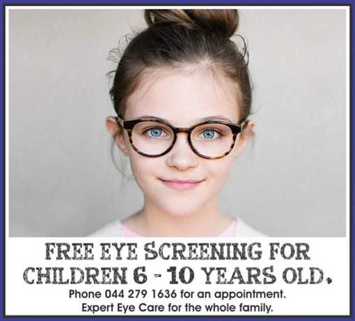 Eye screening for children