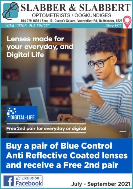 Slabber and Slabbert Lens Promotion 2021